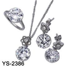 La joyería de la manera fijó la plata 925 (YS-2386)