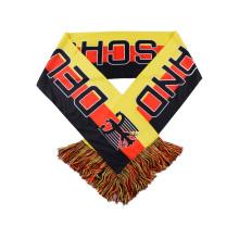 Lenço de poliéster tricotado da Alemanha de amostra grátis de alta qualidade