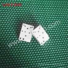Pieza de fresado CNC con Zn plateado para accesorios de fosfatación Productos de aluminio Vst-0907
