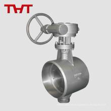 Válvula de bola tri-abrazadera de polipropileno y zinc con aire soldado