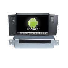 Четырехъядерный шнур Android версии 4.4.2/5.0 Автомобильный DVD для Citroen C4L с GPS/ГЛОНАСС,Bluetooth,DVD,Радио, 3Г, зеркало-Link поддержка swc