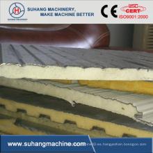 Máquina discontinua del panel del emparedado de la PU (poliuretano)
