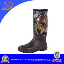 Comfortable Mens Rubber Camo Boots (NE-27)