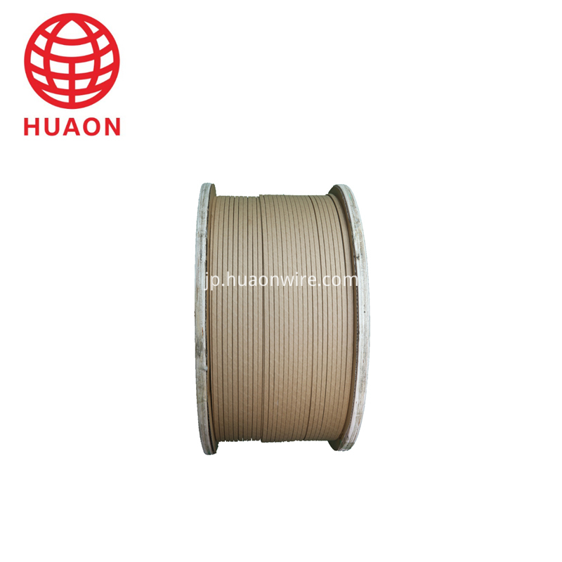 Paper Covered Flat Aluminium Wire