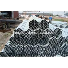 Aço pré galvanizado Tamanho redondo do tubo
