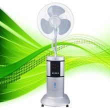 Ventilador de niebla de agua de 16 '', ventilador de pie