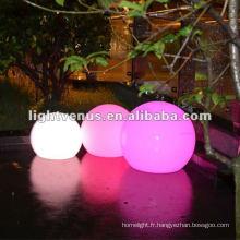 Couleur imperméable de 30cm IP68 changeant la boule magique de LED