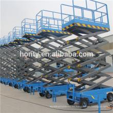 Mesa elevadora de tijera hidráulica mecánica de 300kg.