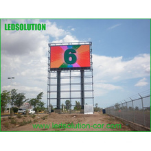10mm Vollrohr Chip Farbe Outdoor IP65 DIP LED Werbung Display