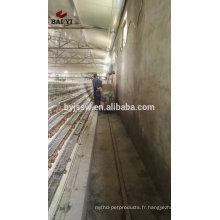 Cage de ferme de caille de treillis métallique de volaille