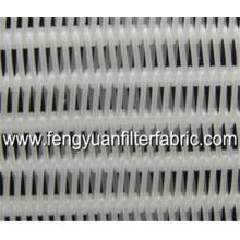 Tecido espiral secador de poliéster para espremer a polpa