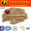0.8-1.6mm walnut shell granule for Oil Drilling ( Sludge separation)