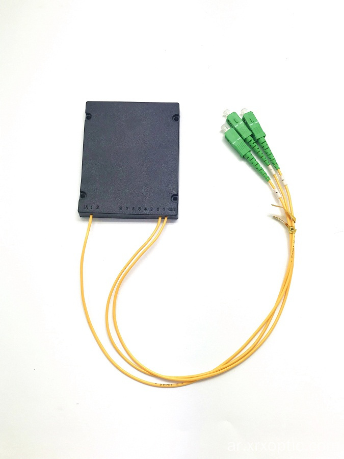 PLC 1 * 2 ABS BOX splitter SC APC connector