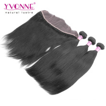 Brazilian Straight Virgin Hair with Lace Frontal