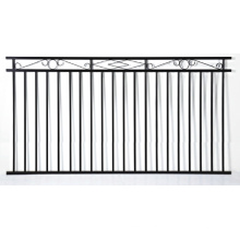 Residential Used Aluminum Black Fence Section