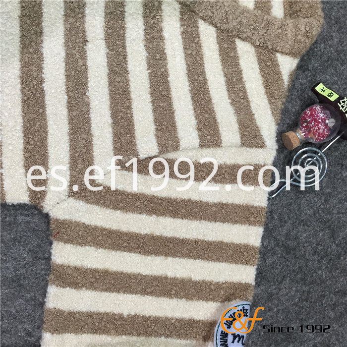 two-color strip children sweater