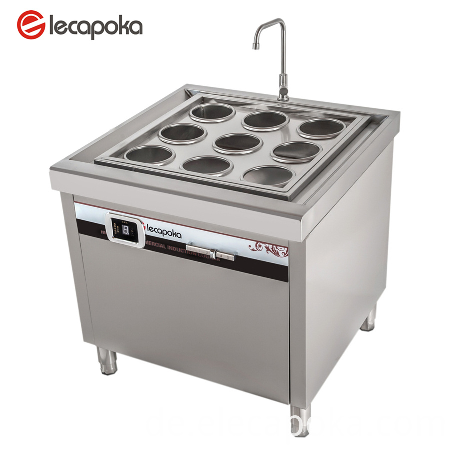 commercial pasta cooker