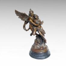 Mythology Statue Angle Lovers Bronze Sculpture Tpy-077A (AP)