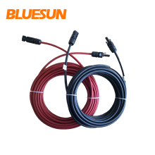 Bluesun high quality solar panel pv cable copper cables 4mm2 for solar system