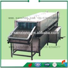 Máquina de lavado de la fruta de la burbuja de alta presión de China, lavadora de la zanahoria