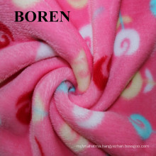 100% Cotton Brushed Fabric Dyed High Weight Flannel Save Cheap and Warm for Bedding and Clothes