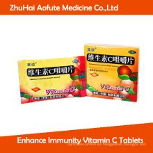 Mejore las tabletas de la vitamina C de la inmunidad