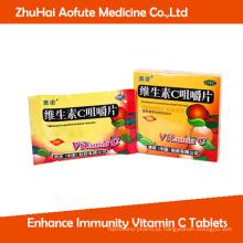 Melhorar a imunidade Vitamina C comprimidos