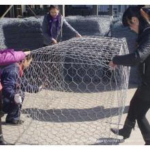 Heavy Hexagonal Wire Mesh caixa de Gabion