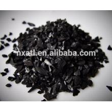 Carbone activé de coquille de noix de coco utilisé pour la filtration de l'eau potable