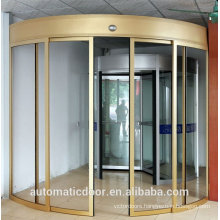 DPER auto curved sliding glass door