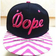 Модная шляпка Hip-Hop Custom Custom Вышивка Модная кепка