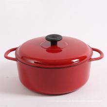 Wunderschöne Emailbeschichtung Design Gusseisen Kochgeschirr / Topf / Auflauf