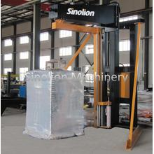 Semi-auto arm rotary wrapping machine