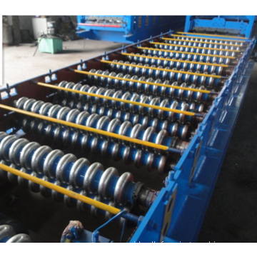 Baja bergelombang Panel Roll Forming Machine