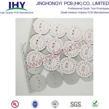 Tablero de una sola capa 94v0 LED redondo PCB