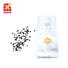 Custom printed aluminum foil side gusset bag for tea packaging