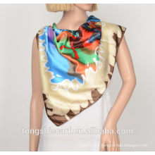 polyester printed triangle scarf 709-3 HB018