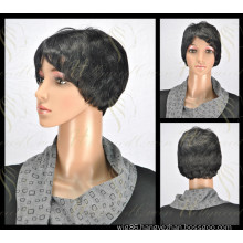 Excellent Synthetic Straight Hair Wig (HQ-SW-S7)