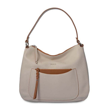Große Slouchy Hobo Weekend Bag Damen Beige