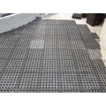HDPE PP water storage and drainage board Black Dimple Garden Drainage Sheet 50*50cm H2.0-5.0cm dimple mat with cheap price