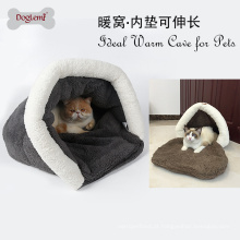 2017Doglemi Atacado Inverno Macio Quente Pet Dog Cat Casa Cama