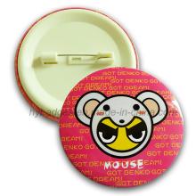 OEM / ODM круглый печатный значок металла металлической кнопки (GZHY-MKT-005)