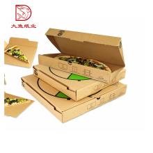 Gute Qualität benutzerdefinierte Logo gedruckt Einweg-Papier-Pizza-Box