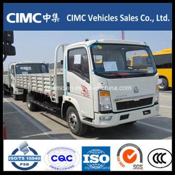 Sinotruk 6-10 Toneladas 4X2 Único Táxi Pequeno Caminhão Leve De Carga