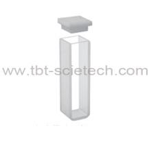 T-BOTA Optical Glass Economic Q-103 Cubetas estándar con tapa y fondo redondo