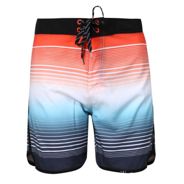 Bunte Beach Board Shorts Stretch Herren Badebekleidung
