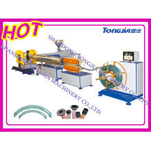 PVC Spiral Steel Wire Reinforced Transparent Hose Production Line-Plastic Machine