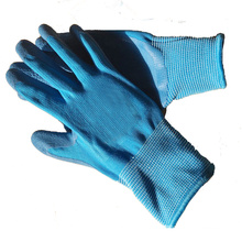 Gardening Rubber Latex Foam Gloves Kids For Toddlers Gift Set