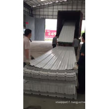 building heat insulation tejas PVC roofing sheet