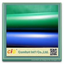 lona transparente del PVC para el carro de la tienda de barco